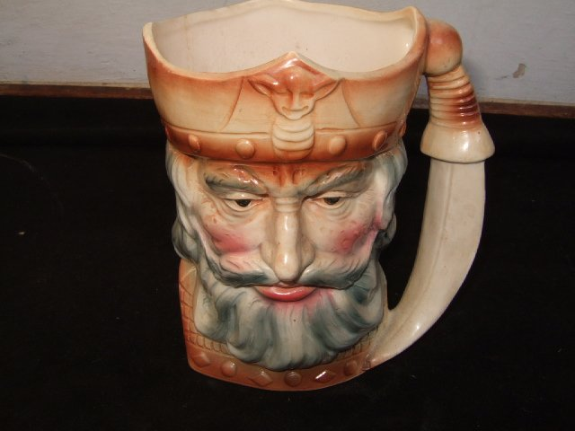 Unmarked King Richard Mug 5.5 Inches Tall