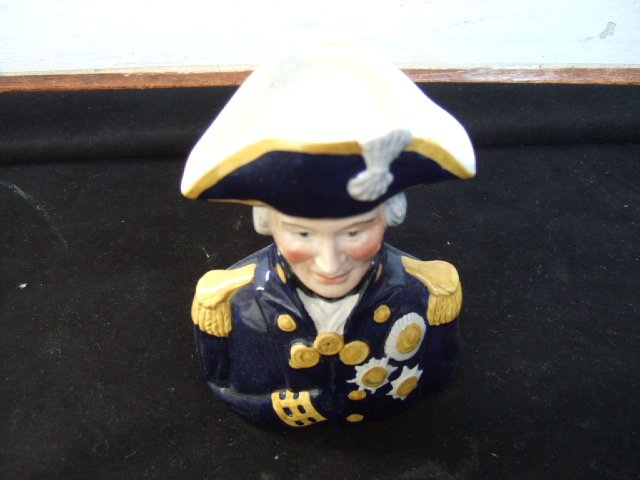 Wood And Sons Admiral Lord Nelson Made In England Mug 5.5 Inches Tall