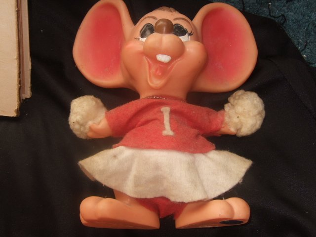 Royal Industries Huge Eared Mouse Ala Topo Gigio 10.5 Inches Tall