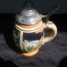 West Germany Decorative Beer Stein 5 Inches Tall