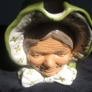 Worlds Largest Unmarked Lady Toby Mug With Bonnet