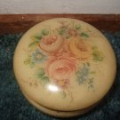 Hand Carved Alabaster Jewelry Box Made In Italy