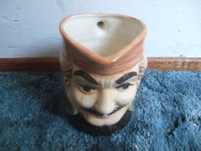 Made In Japan Toby Mug 5 Inches Tall