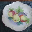 Norcrest Japan Collectible Plate Apples, Pears And Grapes