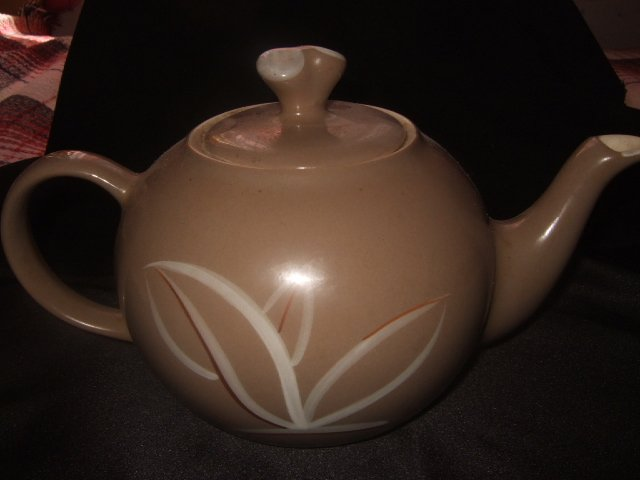 Winfield Hand Crafted  Porcelain Gray Teapot Made In The USA