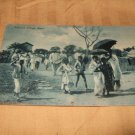 Filipino Band Village Scene German Postcard 1910's-20's