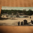 Fountain In Central Park, New York Postcard 1910's