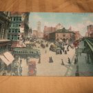 Herald Square, New York City 1910's Postcard One Cent
