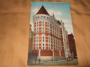 Tombs And Criminal Court Building, New York 1910's Postcard