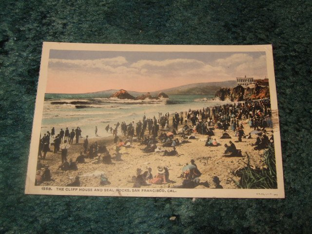 The Cliff House And Seal Rock Panama-Pacific Exposition Postcard