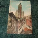 Singer Building, New York 1909 Postcard