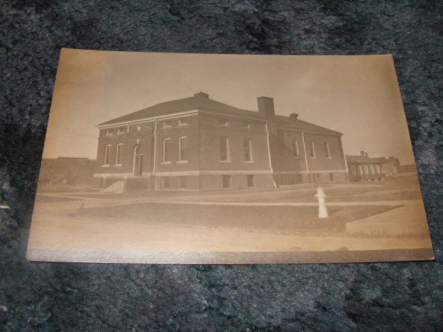 Black And White Building Photo Postcard 1910's?