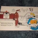 Minnesota Woodtick Color Postcard 1950's?