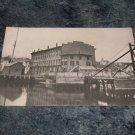 Connecticut Dock Scene Black And White Postcard 1910's?