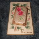 Happy Birthday Postcard 1910's Postally Unused