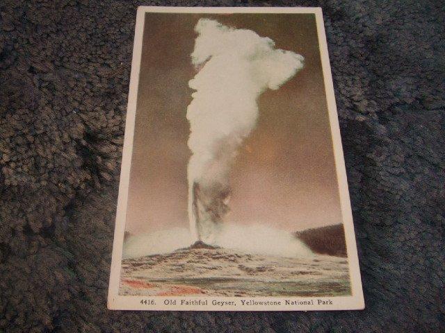 Old Faithful Geyser, Yellowstone National Park #4416