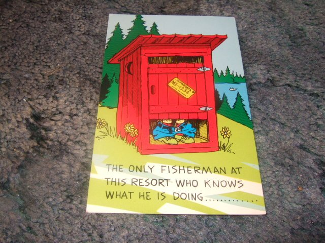 Minnesota Resort Novelty Postcard 1950's?