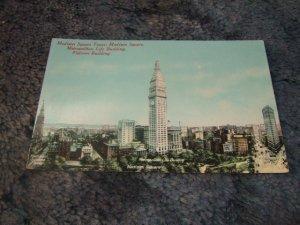 Metropolitan Life Building, New York 1910's Postcard
