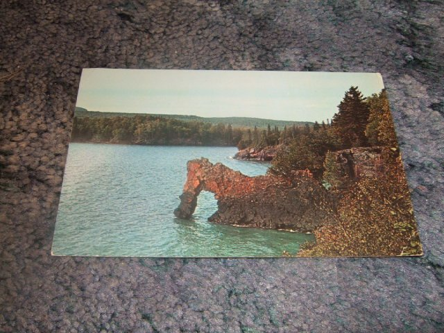 Sea Lion Port Arthur Ontario Canada Postcard 1950's