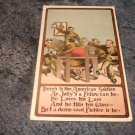 Here's To The American Soldier 1910's Postcard