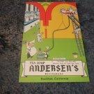Andersen's Pea Soup Buellton, California 1950's Postcard