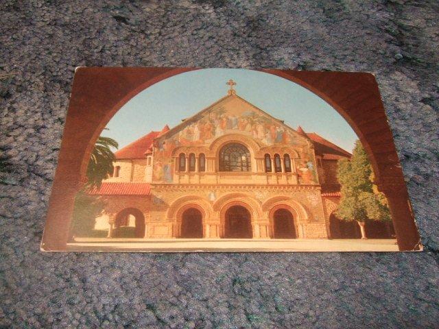 Union 76 Stanford Memorial Church Stanford, California 1950's? Postcard