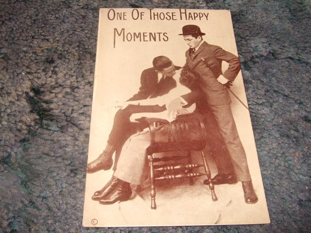 One Of Those Happy Moments 1910's Postcard