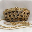 Cheetah Crystal Purse