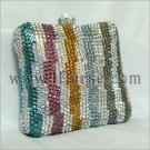 Colorful Box Crystal Purse