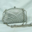 Flying Silver Crystal Purse