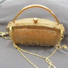 Gold Lady Evening Bag