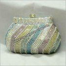 Light Multi Color Crystal Purse