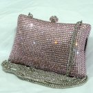 Pink Pillow Crystal Purse