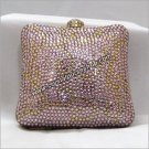 Pink Box Crystal Purse