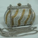 Silver Gold Pearl Secret Box Bag