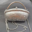 Silver Lady Evening Bag
