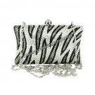Zebra Crystal Purse