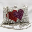 Lovers Heart Swarovski Crystal Bag