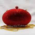 Red Egg Crystal Party Clutch