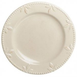 Signature Housewares Sorrento Dinner Plate - Jicama (White), Retired