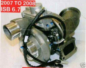 HE35 2007 2008 ISB 6.7 Dodge Cummins Turbo Turbocharger