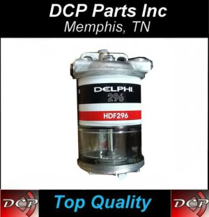 Diesel Fuel Filter Water Separator assembly with 7111-296 filter element