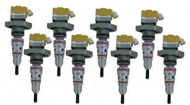 Set (8) 1994-1996 Code AA Ford 7.3 7.3L Powerstroke Diesel Fuel Injectors