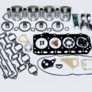 TOP QUALITY YANMAR 4TN 4TNV84 ENGINE REBUILD OVERHAUL KIT Complete w/ PISTONS
