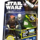 Star Wars Clone Wars CW54 Saesee Tiin with Flight pack