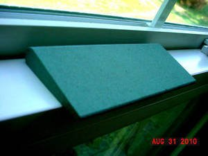 NEW THIN STYLE GREEN SILICON CARBIDE SHARPENING STONE~FREE SHIPPING~SHIPS FAST