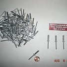 "New ALUMINUM POP RIVETS 100 pcs 3/16"" x 3/4""  FREE SHIP"