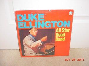 SEALED ORIGINAL SHRINK  2 LP  DUKE ELLINGTON ALL STAR ROAD BAND 1983 FREE SHIP