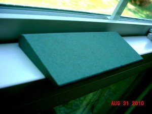 (2) THIN STYLE GREEN SILICON CARBIDE SHARPENING STONES~FREE SHIPPING~BUY IT NOW