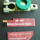 AUTO ON/OFF QUICK battery DISCONNECT CUT-OFF KILL SWITCH FITS POS/NEG TERM POST